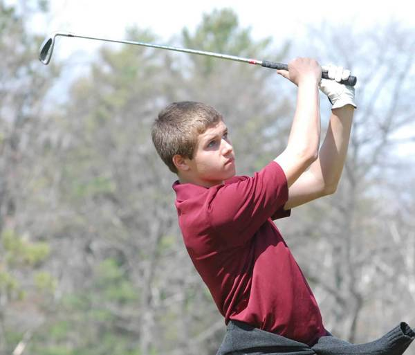 Michael Muller of Harbor Light Christian shot 41 to capture medalist honors Tuesday during a Northern Lakes Conference nine-hole tournament at Wildwood Lakes Golf Course.
