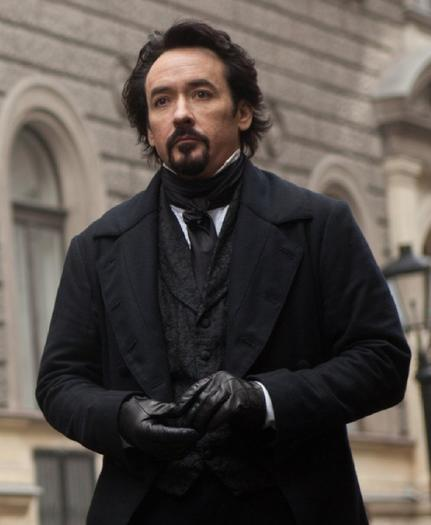 "John Cusack in ""The Raven"""