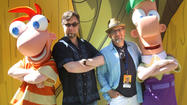 'Phineas & Ferb' masterminds share tips at Disney
