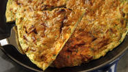 Prosciutto and Onion Frittata