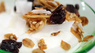 Cherry-Almond-Coconut Granola
