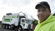 Pictures: Garbage truck that runs on natural gas