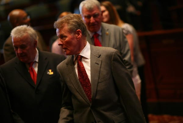 Illinois House Speaker Michael Madigan, seen here last week, said today that a cigarette tax hike might have a tough time passing.