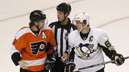 After Claude Giroux was called the greatest player in the world by Philadelphia coach Peter Laviolette following the Flyers' opening-round Stanley Cup playoff win over Pittsburgh, it sounded as though Giroux would be elevated to team captain by the start of the next playoff series.