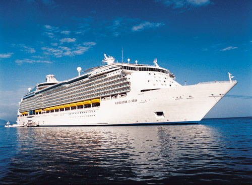 Pictures of the Royal Caribbean Navigator of the Seas cruise ship