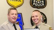 TFC Michael J. Bonczewski of the Bel Air Barrack has been named 2011 Trooper of the Year for the Maryland State Police.