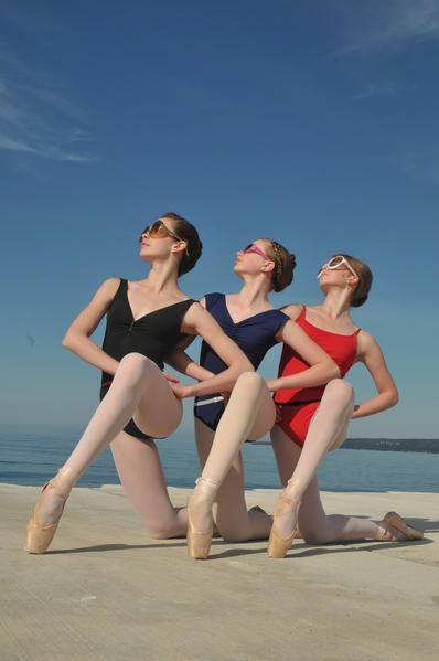 Emily McGeehan, Marie Millard and Ireland Adgate are three of nine pre-professional dancers from Crooked Tree Arts Center who will be studying at renowned summer dance programs across the country.