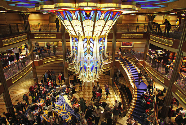 Pictures: The most unique cruise ship features - Disney Dream -- atrium