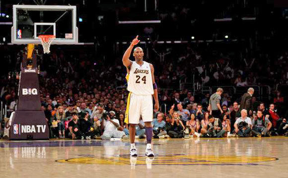 Kobe Bryant could win the scoring title this season.
