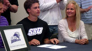 REPUBLIC, MO - Nick Yocum is trading in his Republic orange for SBU purple.  The senior point guard signed his national letter of intent Thursday to play basketball at NCAA D-II Southwest Baptist University this fall.