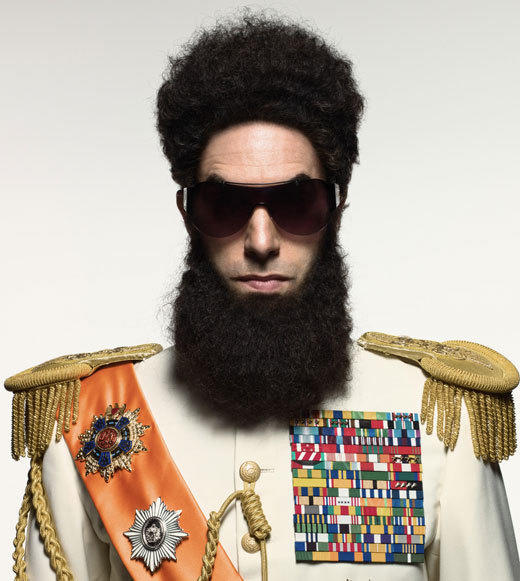 "Sacha Baron Cohen is good at outrageous. Just witness his performances as ""Borat,"" ""Bruno"" and the cleverly stupid ""Ali G."" The newest addition to his menagerie, ""The Dictator,"" promises more of the same -- but with Cohen starring as a deposed tyrant who lands in New York and ""risks his life to ensure that democracy never comes to the country he so lovingly oppressed."" Also, the whole throwing-ashes-on-Ryan-Seacrest at the Oscars thing is totally worth the price of admission.<br><br>  <b>Release date</b>: May 16<br><Br>  <i><a href=""http://twitter.com/lizkellynelson"">Liz Kelly Nelson</a>, <a href=""http://www.zap2it.com"">Zap2it</a></i>"