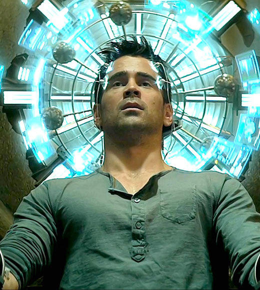 2012 Summer Movie Guide: Think again if you thought the Total Recall redux was a mere update of the 1990 Arnold Schwartzenegger film. While that film stands on its own cheezy merit, the new version diverges from the original in big ways -- theres no trip to mars and the political overtones are front and center as Euromerica and New Shanghai jockey for control of the world. This time out, Colin Farrell stars as the man with the faulty memory and Jessica Biel plays the prostitute who may have the keys to Farrells past.   Release date: August 3  Liz Kelly Nelson, Zap2it