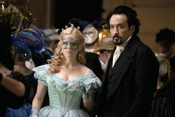 Alice Eve and John Cusack star in Relativity Media's stylish gothic thriller 'The Raven.'