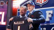 Bears take McClellin No. 19 overall in NFL draft