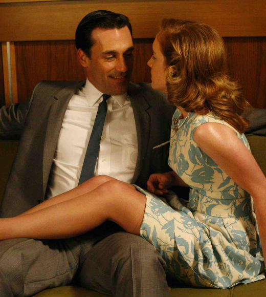 The bed-hoppingest characters on TV: From Don Draper to Vincent Chase: Jon Hamm