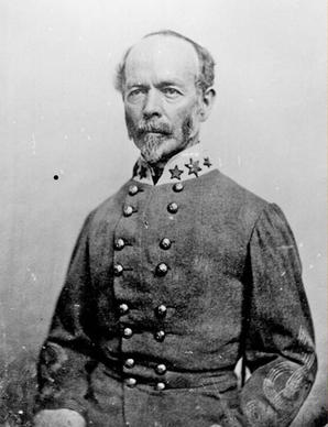 Gen. Joseph E. Johnston assumed command of the Yorktown and Warwick River line defenses in mid-April 186