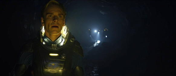 "Ridley Scott, the ""Alien"" and ""Blade Runner"" director, gets lost in space once again in a science-fiction epic starring Noomi Rapace, otherwise known as ""the more interesting of the two women who played the Girl with the Dragon Tattoo."""