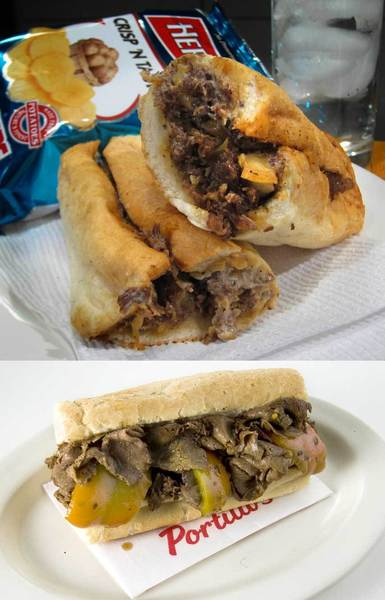 <b>Winner: Italian beef</b><br> There's no way a Philly Cheesesteak could win against an authentic Chicago Italian Beef with hot or sweet peppers. Especially if it's from Portillo's.