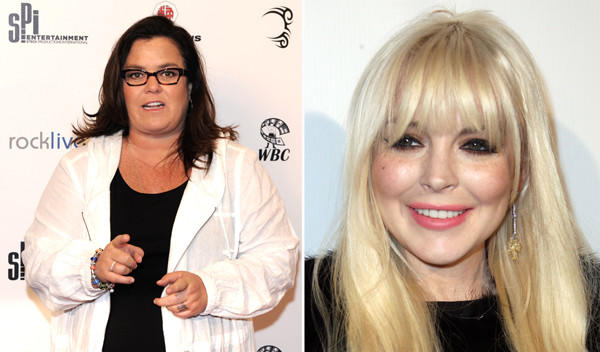 "On Tuesday, Rosie O'Donnell said she felt sorry for Lindsay Lohan and <a href=""http://latimesblogs.latimes.com/showtracker/2012/04/elizabeth-taylor-rosie-odonnell-lindsay-lohan.html"">added of her work</a>: ""The last thing she did good, she was 16."" That didn't sit well with Lilo's dad or a number of other people. Which meant by Thursday, she was emphasizing her concern for Lohan and <a href=""http://www.latimes.com/entertainment/gossip/la-et-mg-rosie-odonnell-lindsay-lohan,0,1337597.story"">explaining,</a> ""Watching Whitney Houston's funeral, I remember thinking, why didn't more people say what they knew? We all knew."""