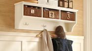 Choose storage solutions for a Lehigh Valley entryway
