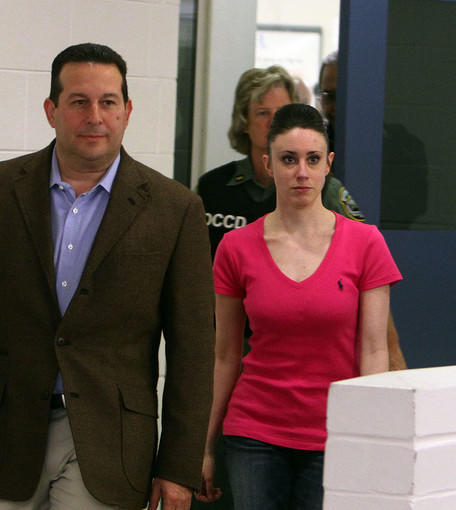 Casey Anthony, 25, is released Sunday, July 17, 2011 from the Orange County Corrections Facility after a jury 2 weeks ago found her not guilty of the 2008 death of her 2-year-old daughter, Caylee Marie Anthony.