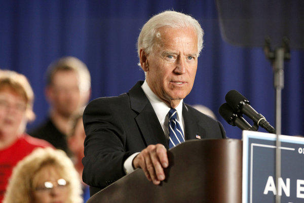 Vice President Joe Biden, shown earlier this year in Toledo, Ohio.