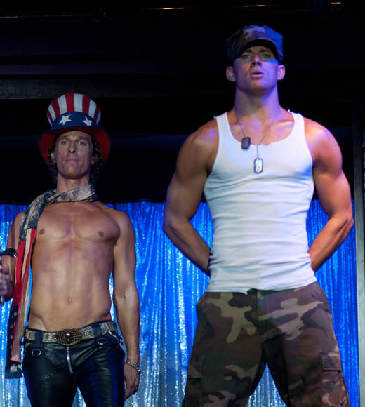 2012 Summer Movie Guide: Channing Tatum, Matt Bomer, and Matthew McConaughey in a stripper-with-a-heart-of-gold movie. Were definitely willing to hand over $13 for that ticket. In singles.   Release date: June 29  Carina Adly MacKenzie, Zap2it