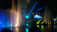 "I dropped in on one of Universal Studios' technical rehearsals for its upcoming lagoon show called ""Universal's Cinematic Spectacular: 100 Years of Movie Memories."""