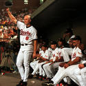 Cal Ripken Jr. breaks Lou Gehrig's record for consecutive games played (1995)