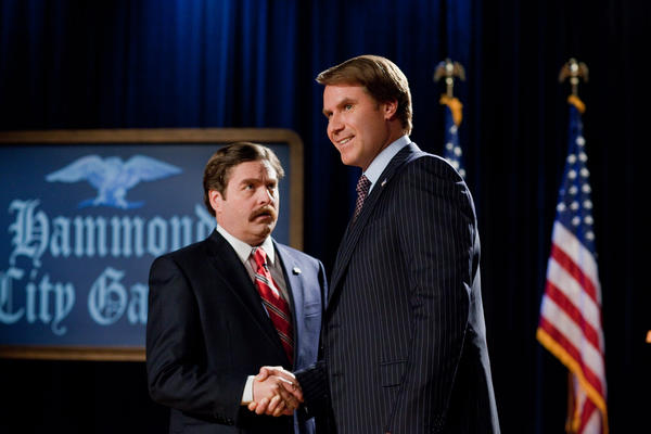 "Will Ferrell and Zach Galifianakis running for president? Sounds ridiculous. Which is something director Jay Roach (the ""Austin Powers"" series) knows something about--though he also helmed HBO's recent ""Game Change"" too, so he's got more political cred than you might think."