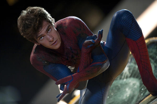 "Finally! It's been five whole years without a ""Spider-Man"" movie; it's about time the franchise got a reboot. Kidding aside, director Marc Webb's (""(500) Days of Summer"") take on the classic superhero doesn't look totally redundant, and I prefer Andrew Garfield's snarkier take over Tobey Maguire's squeaky shyness. Emma Stone's always a plus too."