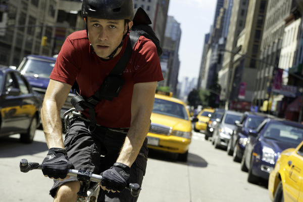 "There's something funny about an action movie centered on a bike messenger, but Joseph Gordon-Levitt picks his projects really carefully, and director/co-writer David Koepp's last directorial effort was the wildly underrated ""Ghost Town."""