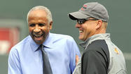 Frank Robinson says Orioles are 'headed in the right direction'
