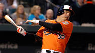 One thing lost in the Orioles' victory over the Toronto Blue Jays on Thursday night was a bit of club infamy made by first baseman Nick Johnson.