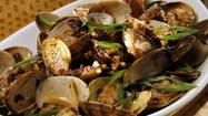 Recipe: Clams in black bean sauce