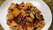 Black bean recipe: Vegetarian Hunan-style tofu