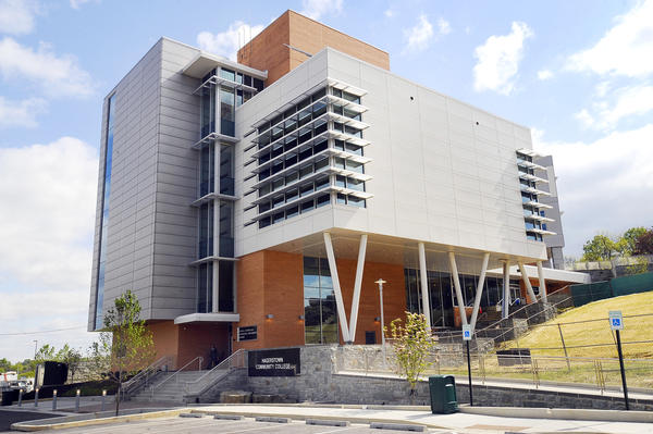 The new Hagerstown Community College STEM building.
