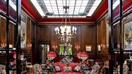 The Hotel Sacher in Vienna, Austria, has old-school charms