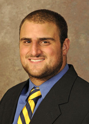 The Ravens selected Delaware offensive guard Gino Gradkowski with the No. 98 pick (fourth round) of the 2012 NFL draft.