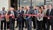 Ashley Furniture HomeStore celebrated the opening of its new store on Wesel Boulevard in Hagerstown Saturday with a ribbon cutting and a $25,000 furniture giveaway.