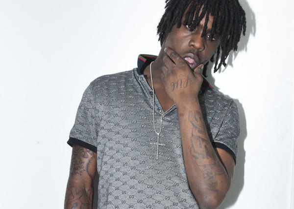 Rapper Chief Keef at his home in Chicago on April 28th 2012.
