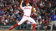 PHILADELPHIA — Whether he's won or lost, Joe Blanton is usually waiting in the center of the clubhouse after games where he'll eventually be surrounded by a mob of reporters.