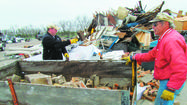 More than 100 people went to the Brown County Landfill on Saturday to participate in the free 2012 residential cleanup.
