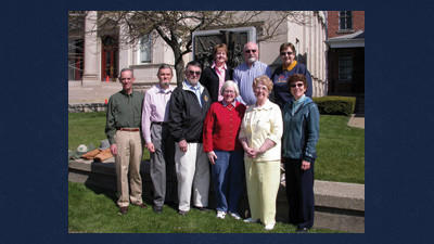 The National Day of Prayer committee for Somerset members are from left, front row: Larry Powell, Ralph Lincoln, Bob Bastian, Deb Pyle, Mary Emert and Vicki Rempel. Back row: Rose Svonavec, Elton Blenden and Shirley Cunningham.