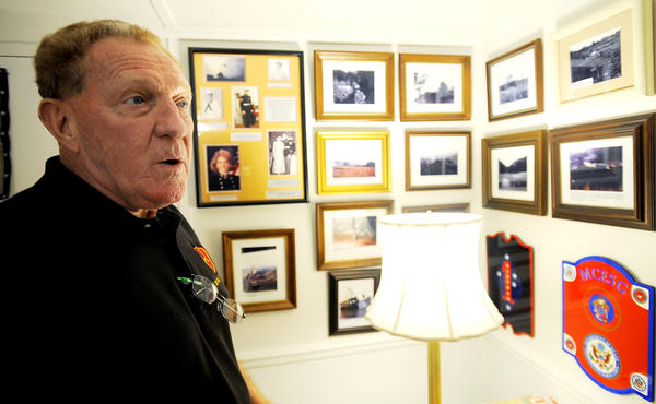 Clark Mayer, who served in Operation Shufly with the U.S. Marine Corps in Vietnam, talks about his service from his Hagerstown home.