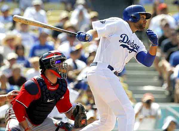 With the Dodgers, first baseman James Loney seemed to be constantly tinkering with his swing, which pretty much everyone but him found maddening.