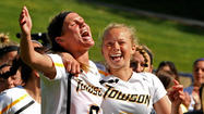 Teeters' late save sends Towson women to NCAA play-in game