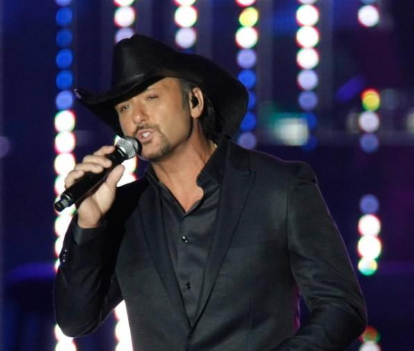 Tim McGraw performs at the Andre Agassi Charitable Foundation's Grand Slam for Children benefit concert at the Wynn Las Vegas September 26, 2009 in Las Vegas, Nevada.