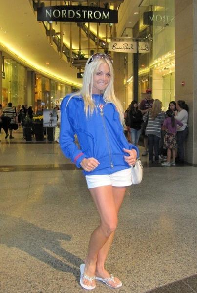 Adult film star Jesse Jane at The Shops at North Bridge Mall July 4, 2009.
