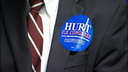 The elections aren't until fall, but Congressman Robert Hurt says it's never too early to start campaigning.